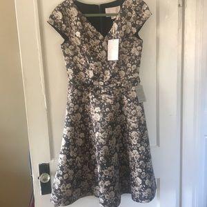 Gal Meets Glam Elle Brightex Duchess Satin Dress